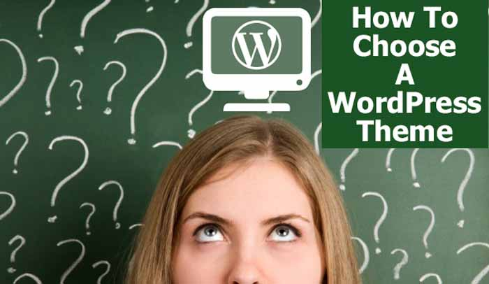how to choose wordpress themes