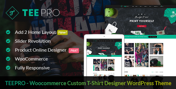 WordPress Tshirt theme