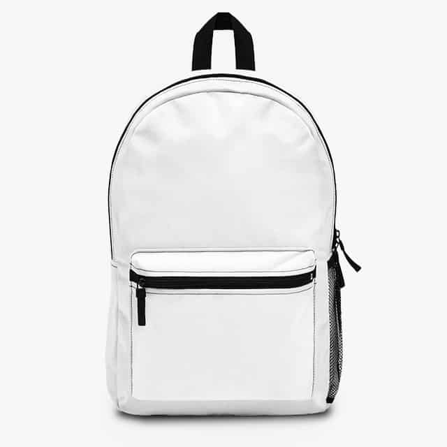 back to school designs on backpack