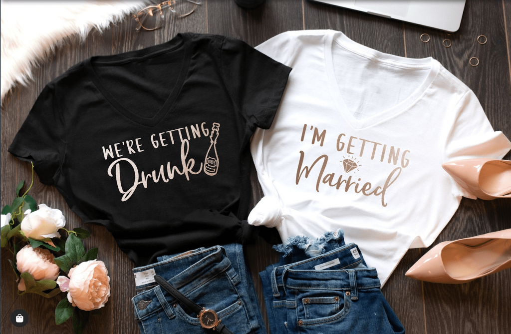 funny drinking bachelorette party shirts