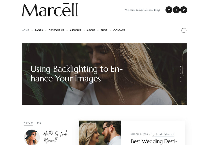 Marcell theme