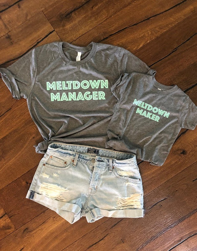 meltdown manager mothers day shirt