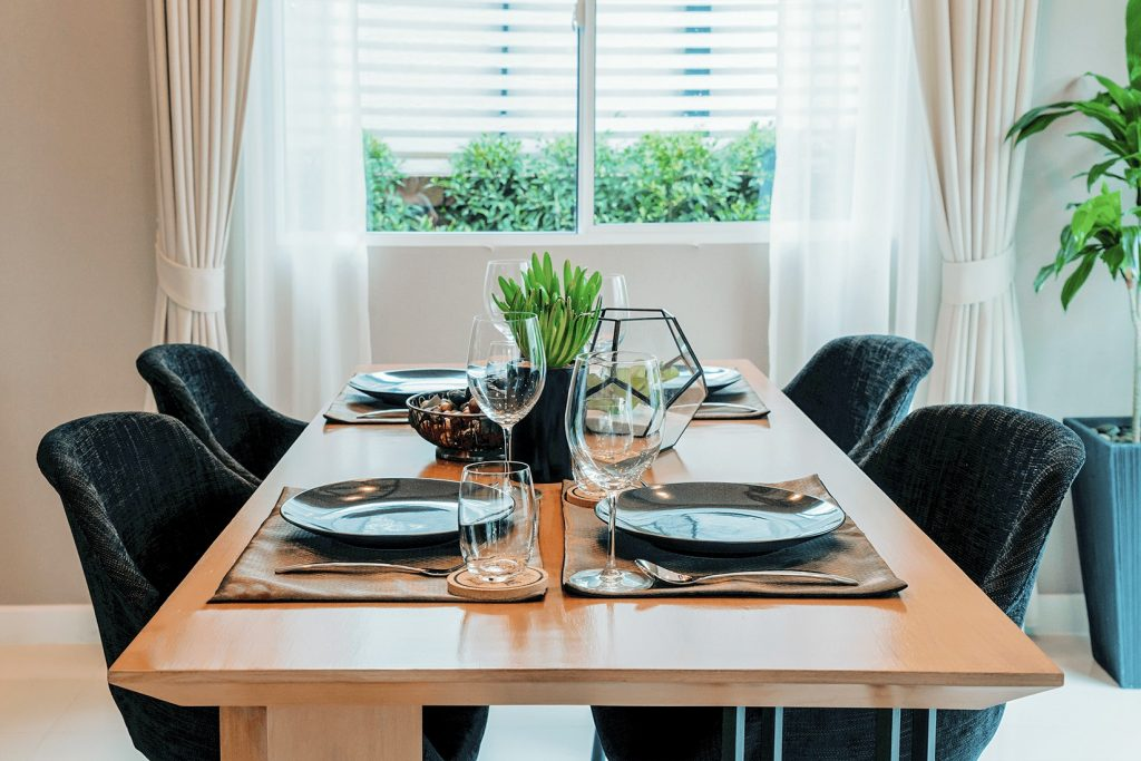 modern home decor dining table