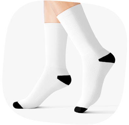 sublimation socks best selling print on demand products