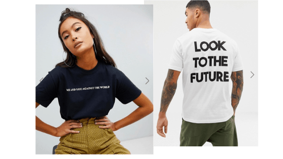 Text-Design-on-T-Shirts